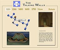 Talking walls application